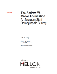 Mellon Foundation Diversity Study